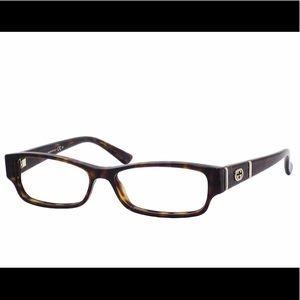 GUCCI Dark Havana Eye Glasses 👓